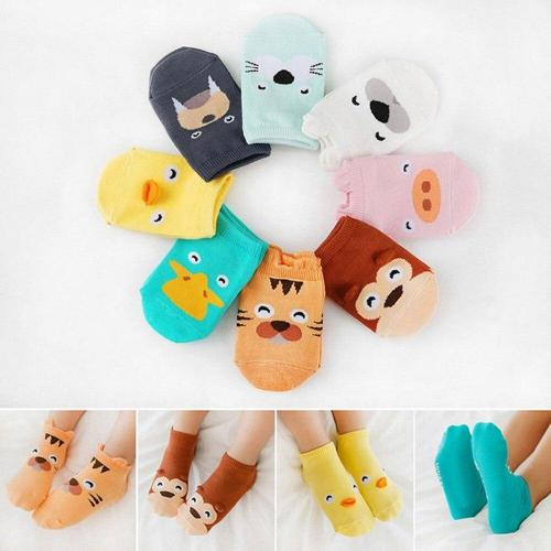 Baby Infant Socks Newborn Cotton Boys Girls Cute Cartoon Printing Toddler Socks