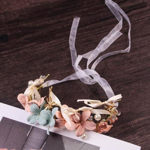 Headwear pearl alloy alloy handmade hair accessories