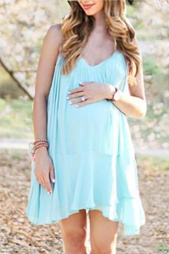 Maternity Chiffon Cami Dress