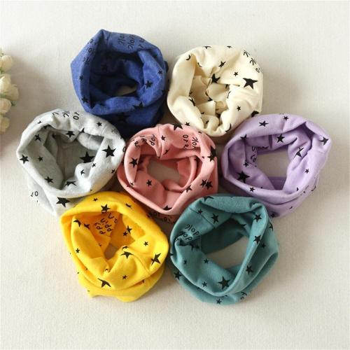 Autumn Winter warm Boys Girls Collar Baby Scarf Cotton O Ring Neck Scarves