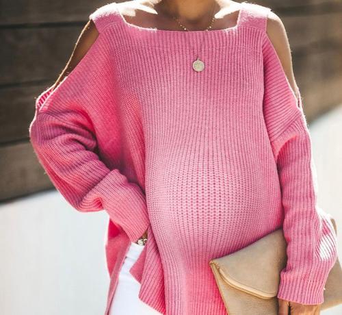 Maternity Small Vest Strap Sweater
