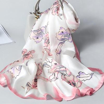 Spring and autumn new mulberry  silk scarf woman fashion trend air-conditioning silk scarf