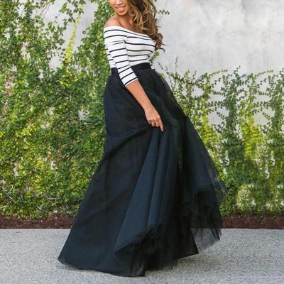 Maternity Casual Patchwork Off Shoulder Dress