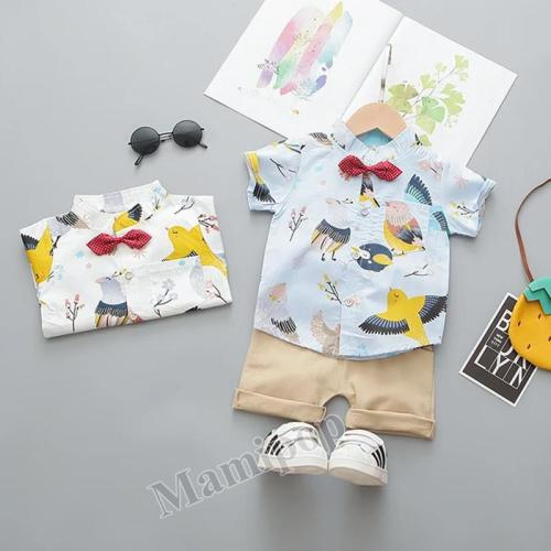 Children's 2020 summer new T-shirt small and medium-sized children's cartoon Shirt