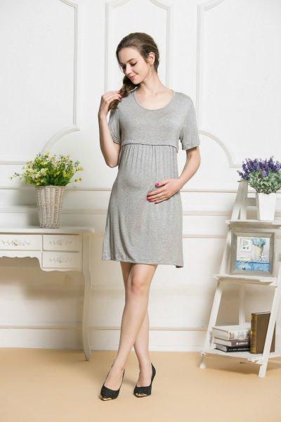 Breast-feeding Dress Maternity Dress