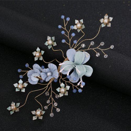 Hair Combs Bride Head Ornaments Pearl Headdress Hair Accessories