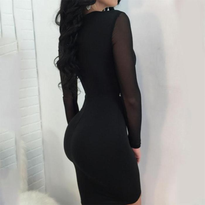 Maternity Fashion Sexy V-neck Dress