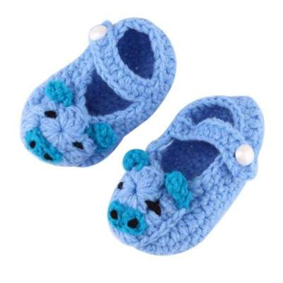 Crochet Baby Shoes Casual Crib Shoes