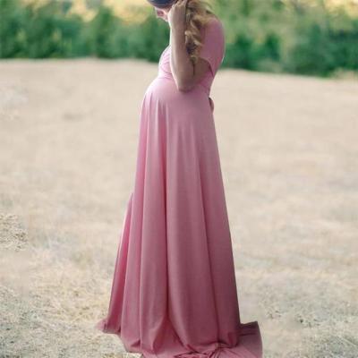 Maternity Full Wrap Convertible Dress