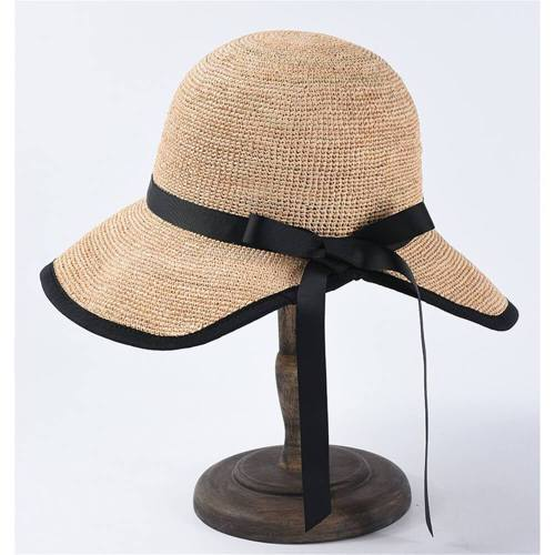 Summer sunscreen sunshade hand-woven straw hat