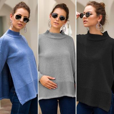 Autumn Winter Loose Sweater Runway Knitted Sweater Pullover Plus Size