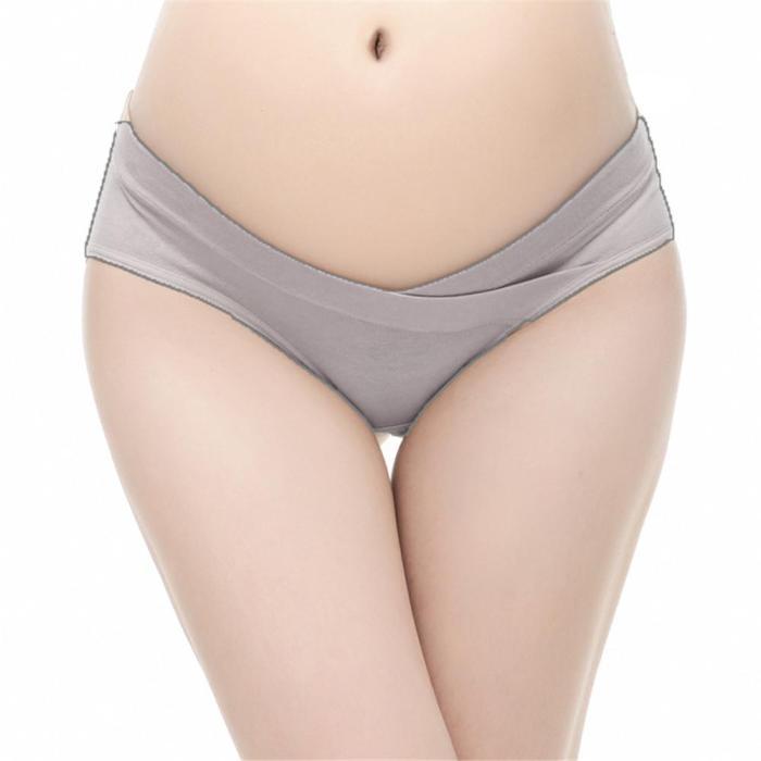 Intimates Pregnant women U-shaped cotton underwear low waist