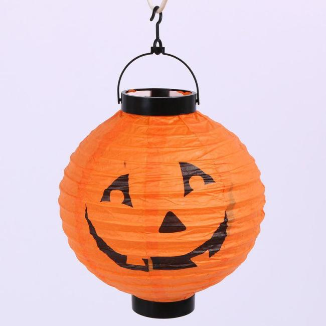 Halloween ornament pumpkin paper lantern