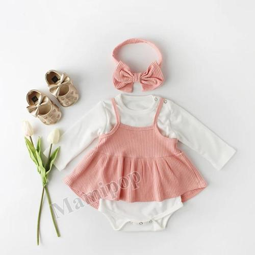 2020 Spring Baby Skirts and Bottoms and Bows Band Set