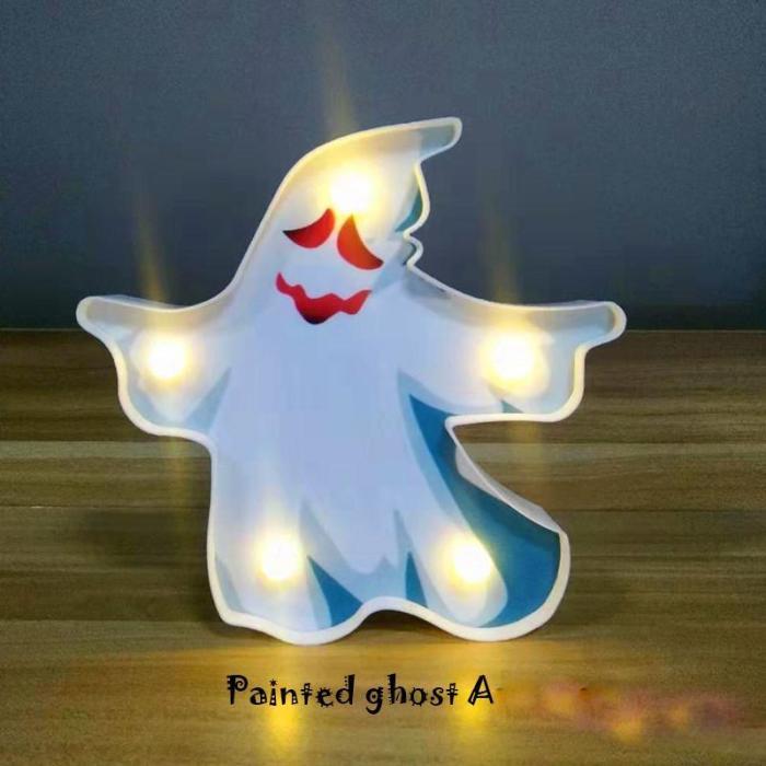 Halloween modeling light battery box light string decoration