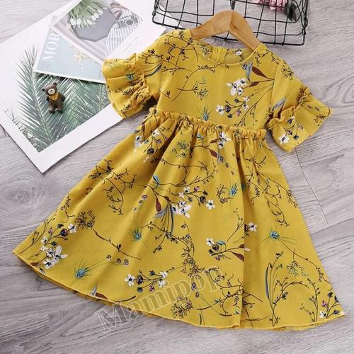 2020 Korean children's New Chiffon Skirt Summer