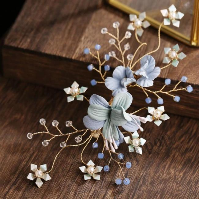 Hair Combs Bride Head Ornaments Pearl Headdress Hair Accessories