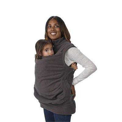 Maternity Clothes Multifunctional Kangaroo Sweater Baby Wear Sleeveless Jacket Vest