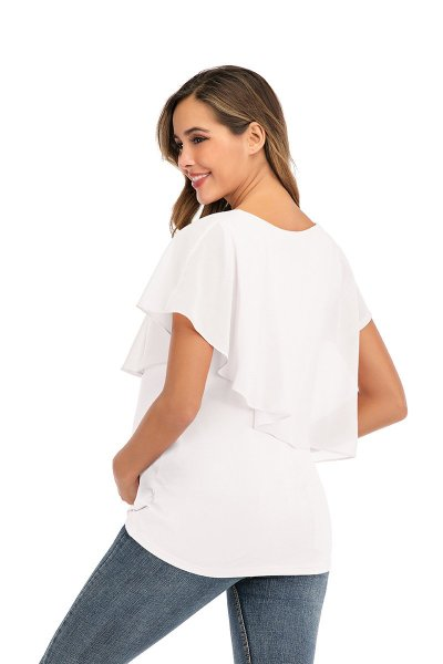 2020 New Women's Top T-shirt Pregnant women's Summer Nursing Clothes