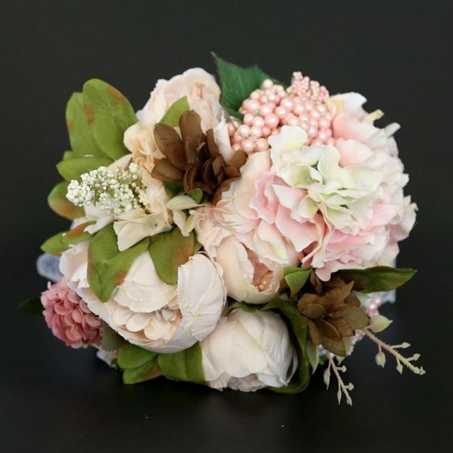 Artificial Flowers Wedding Bride Bonquet Home Decorations Simulation Flower