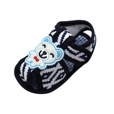 Newborn Baby Girls Printing Cartoon Prewalker Soft Sole Single Shoes Little Bear Toddler Shoes