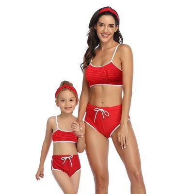 2020 Sports Parent-Children Swimsuit Bikini
