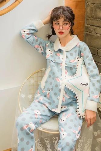 Maternity Pajamas Set Pinch Cotton Cardigan+Trousers