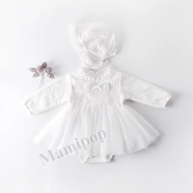Baby Lace Mesh Triangle Dress