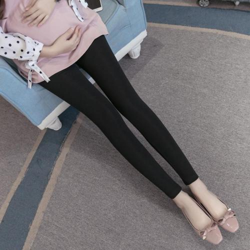 Maternity Fashion Solid Color High Waist Leggings