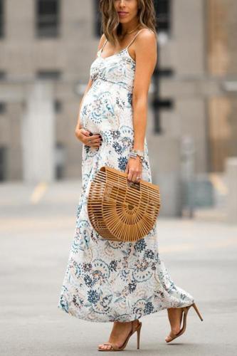Maternity Full Length Cami Dress