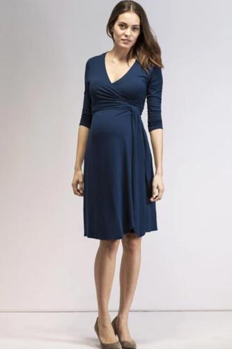 Maternity Nursing Dress Clothes Outwear Elegant Pregnancy Dresses