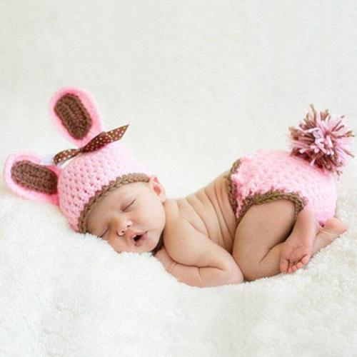 Cute Bunny Baby Photography Sets Children's Photo Props