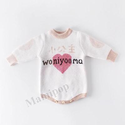 Autumn New Baby princess 10 wear ingenline jumpsuit farts