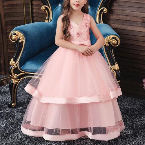Multi-Layered Lace Catwalk Princess Evening Dress