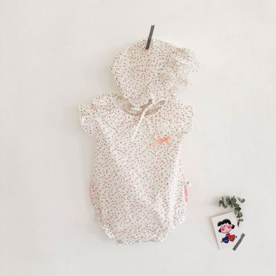 Summer 2020 New Baby Girl Cotton Sleeveless Jumpsuit Climbing Suit
