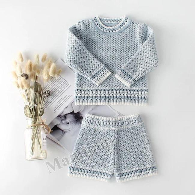 2020 Baby Children's Wear Two-year-old Girl Set Princess Socialite Two-piece Set