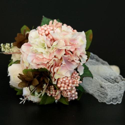 Artificial Flowers Wedding Bride Bonquet Home Decorations Simulation Flower