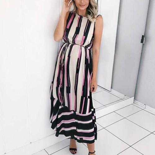 Maternity Stripe Dress