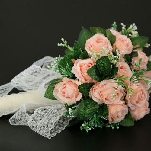 Artificial wreath garland Wedding road lead flower Rose