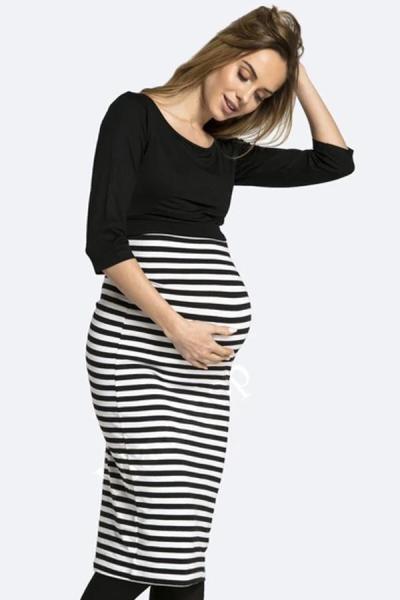 Summer Casual  pregnant women's fashion dress