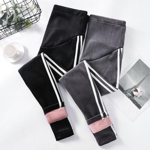 Maternity wear casual thickening stomach lift pants