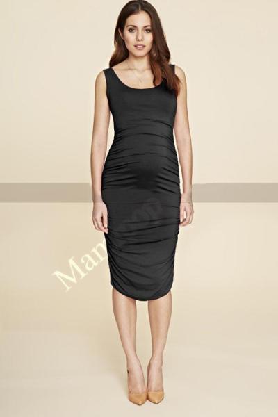 Casual Lycra Maternity Clothes Summer Sleeveless Knee Length Maternity Dress