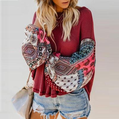 Maternity Long Sleeve Round Neck Sweater