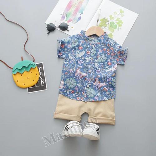 Children's Summer T-shirt Small Two-piece Set