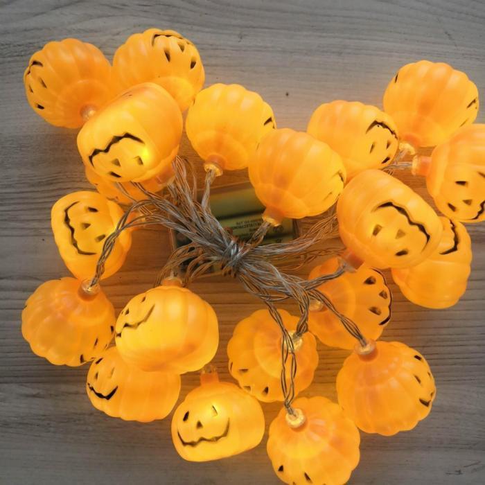 Halloween LED Pumpkin String