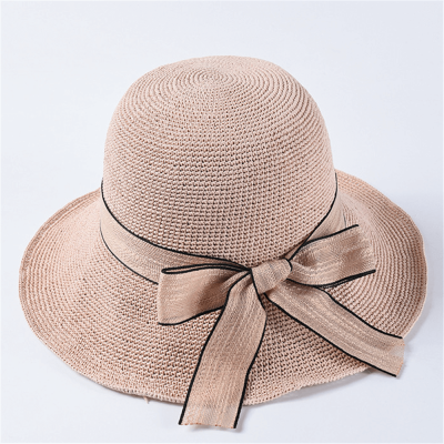 Summer Casual Hand-Woven Straw Hat
