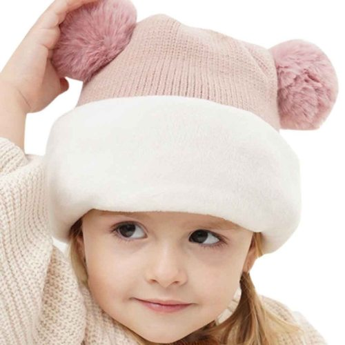 Adorable Warm Toddler Infant Baby Girls Boys Hat