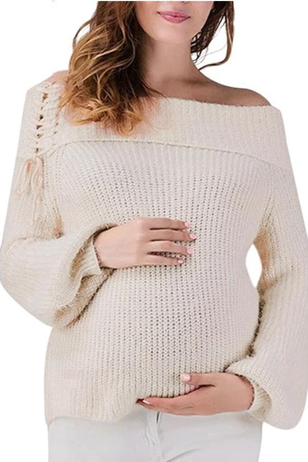 Maternity Knitted Sweater