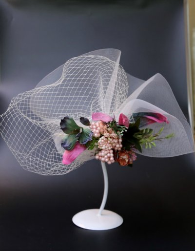 Gauze HAT party party gauze flower girl hat headdress