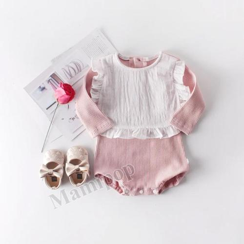 Autumn New Girls' Baby Sweet Baby Long Sleeve One-piece Climbing Dress